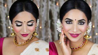 Onam 2017: Traditional Kerala Makeup Tutorial to Look Gorgeous on Thiruvonam!