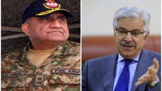पाक रक्षा मंत्री ने माना, आतंकवाद पर झेलनी पड़ेगी शर्मिंदगी, आर्मी चीफ ने दी दुनिया को नसीहत