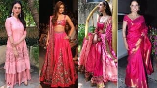 Navratri 2017 Day 8 Color Pink: Wear Gorgeous Shades of Pink 5 in Different Ways on Ashtami!