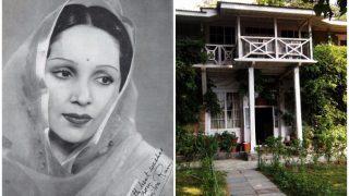 Devika Rani who gave first kiss in bollywood   1933 में देविका ने दिया था पहला स्मूच सीन, इस ऐतिहासिक घर से रहा है रिश्ता!