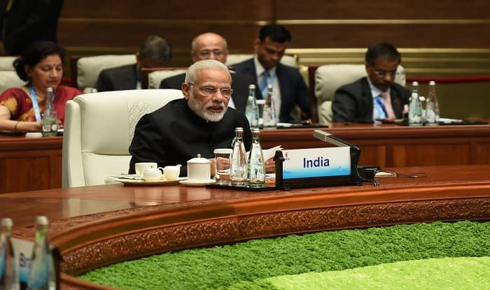 PM Modi addresses BRICS Summit 2017