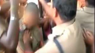 Caught on Camera: Police Officer Gropes Female Cop During Anti-NEET Protest in Coimbatore