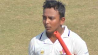 Prithvi Shaw Becomes Second Youngest Batsman After Sachin Tendulkar to Score a Century in Duleep Trophy