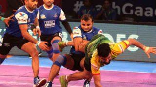 प्रो कबड्डी लीग: यूपी ने गुजरात, पटना ने हरियाणा से खेला टाई