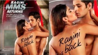 Ragini MMS Returns Poster: Karishma Sharma Goes Topless With Siddharth Gupta In This New Still