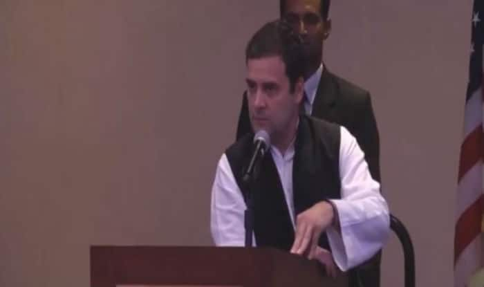 Rahul Gandhi Urges NRIs to Work With Congress