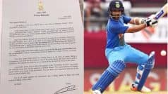 Ajinkya Rahane Pledges Support to 'Swachhata Hi Seva' Movement