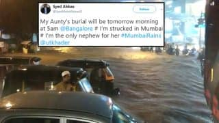 Mumbai Rains: Twitterati List Problems Faced Due To Cancelled Flights, Water logging & Delayed Trains