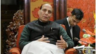 Rajasthan Policemen Refuse to Give Guard of Honour to Rajnath Singh Over Pay Cut Rumours