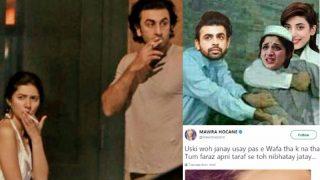Ranbir Kapoor-Mahira Khan Relationship Rumours Upset Mawra Hocane? Twitter Interpret Pakistani Actress' Sad Picture Post