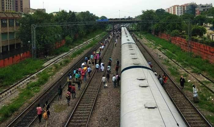 Shock : Rajdhani Express Derails in Delhi, 2 accidents in a day