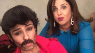 फराह खान के शो में अनिल कपूर के गेटअप में पहुंची रवीना टंडन, देखकर आप भी नहीं पहचान पाएंगे