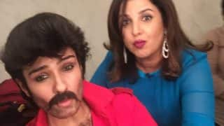 Anil Kapoor, Is That You? Raveena Tandon Does Hairy Chest Cosplay On Farah Khan's Lip Sync Battle