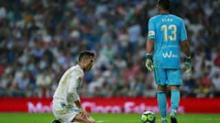 La Liga 2017-18: Real Madrid Suffer Shock 1-0 Defeat at Home to Real Betis