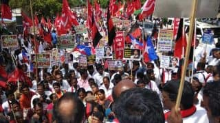 Tamil Nadu Opposition Parties Hold Protest, Demand Exemption of NEET Exam