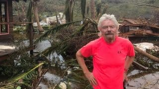 Richard Branson Shares Pictures of Devastation On Necker Island Home Hit By Hurricane Irma