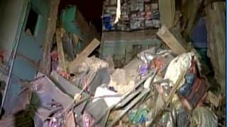 Building Collapses in Delhi's Sadar Bazar, 8 Fire Tenders Pressed For Rescue Operation
