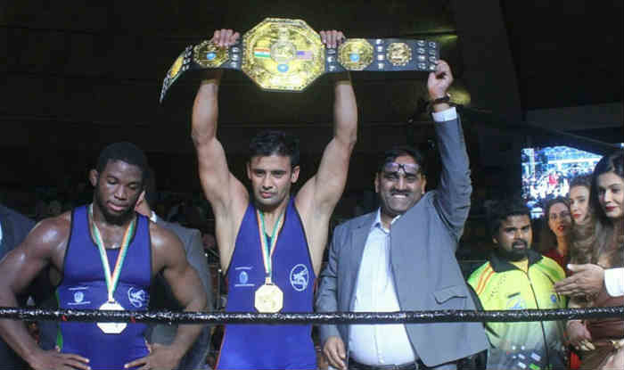 संग्राम सिंह ने जीता केडी जाधव कुश्ती चैंपियिशिप का खिताब (IANS)
