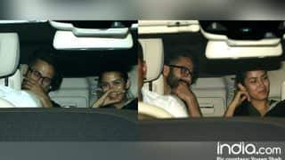 Shahid Kapoor- Mira Rajput Just Cannot STOP Laughing While Heading To Karan Johar's Residence- View HQ Pics