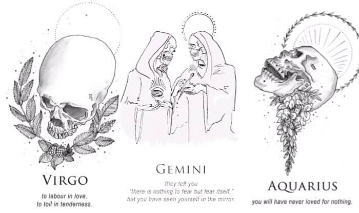 Artist S Take On What Different Zodiac Signs Mean Is Unlike Anything