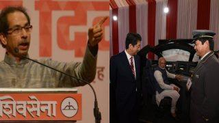 Shiv Sena Slams Mumbai-Ahmedabad Bullet Train Project, Says 'It's Not a Common Man's Dream'