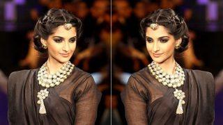 Navratri 2017 Hairstyle: How to Get Sonam Kapoor Inspired Bun Updo this Festive Season