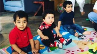 Taimur Ali Khan Goes On A Playdate With Laksshya Kapoor And The Sight Is Too Cute For Words