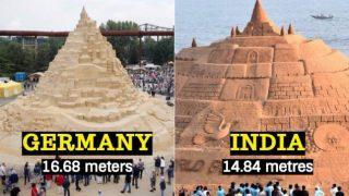 World's Tallest Sandcastle: Germany Breaks India's Sudarsan Pattnaik's Guinness Record