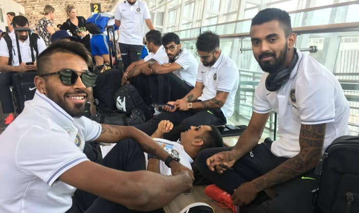 Team India at the airport. (BCCI Twitter)