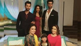LEAKED! Beyhadh's Kushal Tandon And Aneri Vajani Glamorous Look Post Leap
