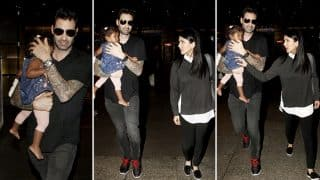 Sunny Leone And Daniel Weber Take Nisha Kaur Weber On An Outing (View Pics)