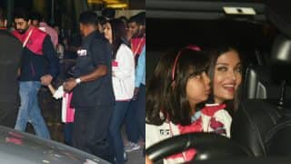 Aishwarya, Aaradhya And Abhishek Bachchan's Recent Outing Proves That Perfect Family Exists! (View Pics)