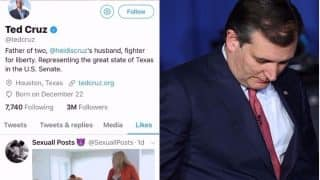US Senator Ted Cruz Who Defended Ban on Sex Toys Likes Porn Video on Twitter, Gets Trolled