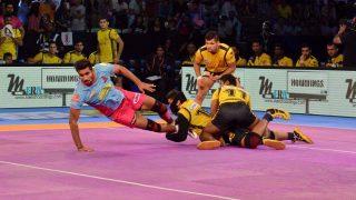 Pro Kabaddi League 2017: Telugu Titans, Bengal Warriors Play Draw in a Nail-biting Clash