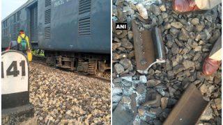 एक महीने के अंदर चौथा रेल हादसा, शक्तिपुंज एक्सप्रेस के 7 डिब्बे पटरे से उतरे