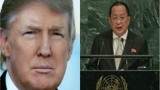 North Korea Threatens to Shoot Down US Bombers; Donald Trump Has Declared War, Says Foreign Minister Ri Yong Ho