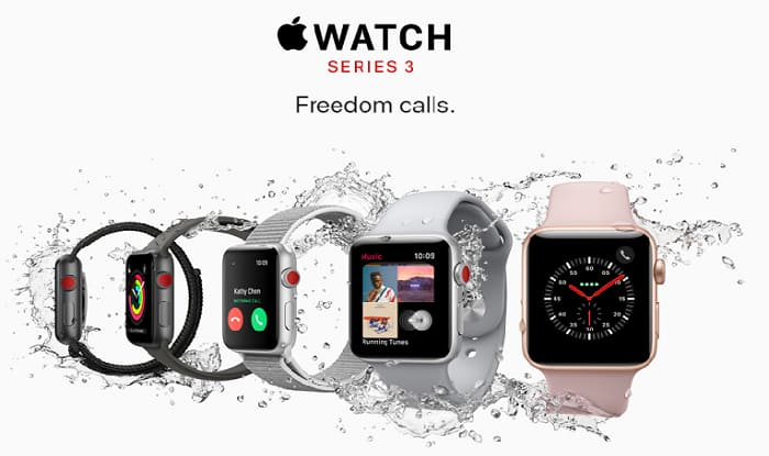 Apple Watch Series 3 to Come to India Without Voice Call