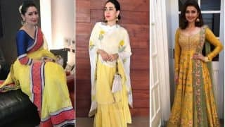 5 Ways to Wear Bright and Vivid Shades of Yellow on Day 1 of Navratri!