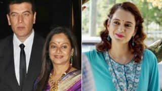 Aditya Pancholi And Wife Zarina Wahab Watched Kangana Ranaut's Simran And Here's Their Take