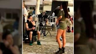 Leaked: Katrina Kaif's Smokin Hot Avatar On The Sets Of Tiger Zinda Hai In Greece