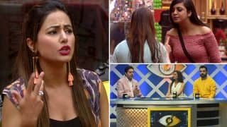 Bigg Boss Season 11, 13 October 2017: Vikas Gupta Sends Hina Khan To The Kaalkothri, Shilpa Shinde And Arshi Khan Have A Spat