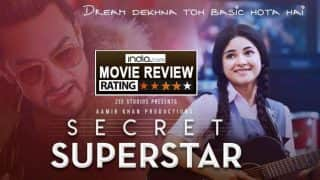 Secret Superstar Movie Review: Aamir Khan Brings Together All His Secret Ingredients To Create The Perfect Movie Experience