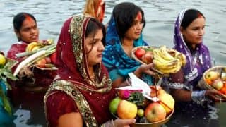 Chhath Puja 2017 Date & Time in Bihar: October 26 Sunset and 27 Sunrise Timings in Patna, Gaya, Arrah and Motihari