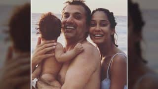 Lisa Haydon, Baby Zack Spend A Day Out At The Beach (View Pics)
