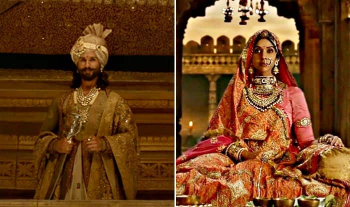 Deepika Padukone And Shahid Kapoor in the Bigg Boss 11 for Padmavati