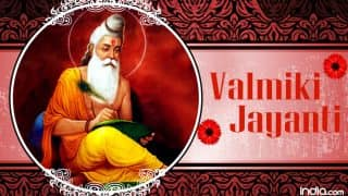 Valmiki Jayanti 2017: History, Significance And Shubh Muhurat For The Birth Anniversary Of Great Sage Who Wrote Ramayana