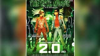 2.0 New Poster OUT: Rajinikanth And Amy Jackson's OTT Avatar Leave Us Worried For The Film!