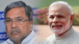 'Jealous' PM Narendra Modi Scared of me, Says Siddaramaiah