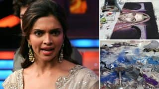 Deepika Padukone Criticizes The Protesters Who Destroyed Artist Karan's Rangoli-Read Tweets