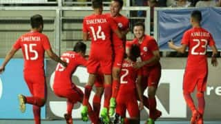 FIFA U17 World Cup: Chile's National Anthem Cut Short, Players Complete it by Singing